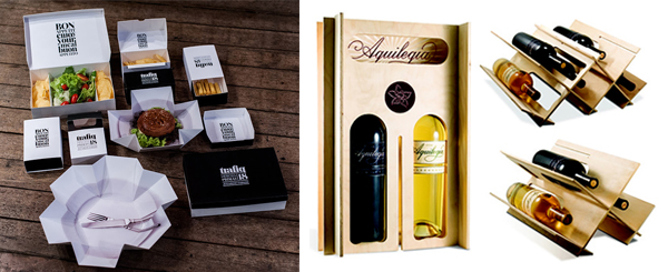 Multifunctional packaging from Trafiq and Aquilequa Wine Packaging